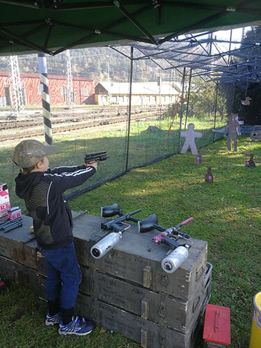 Strelnica paintball